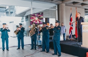 British Embassy hosts Queen's 91st Birthday Party marking UK and Macedonia partnership and cooperation in diverse areas.