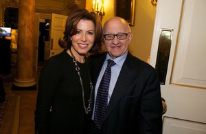 Image of Natasha Kaplinksy with Zigi Shipper