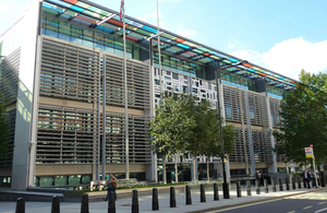 Department for Communities and Local Government HQ building in London