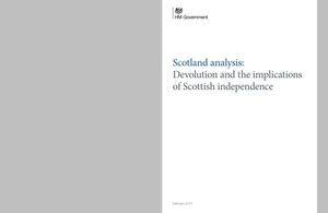 Cover of Scotland analysis paper