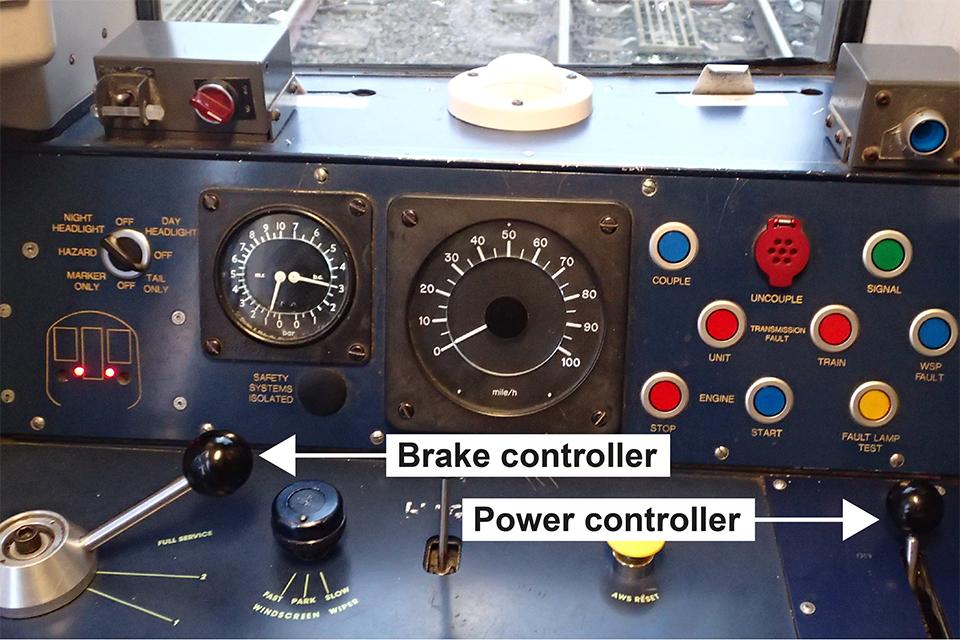 Rail Driver Desktop Cab Controller - YouTube