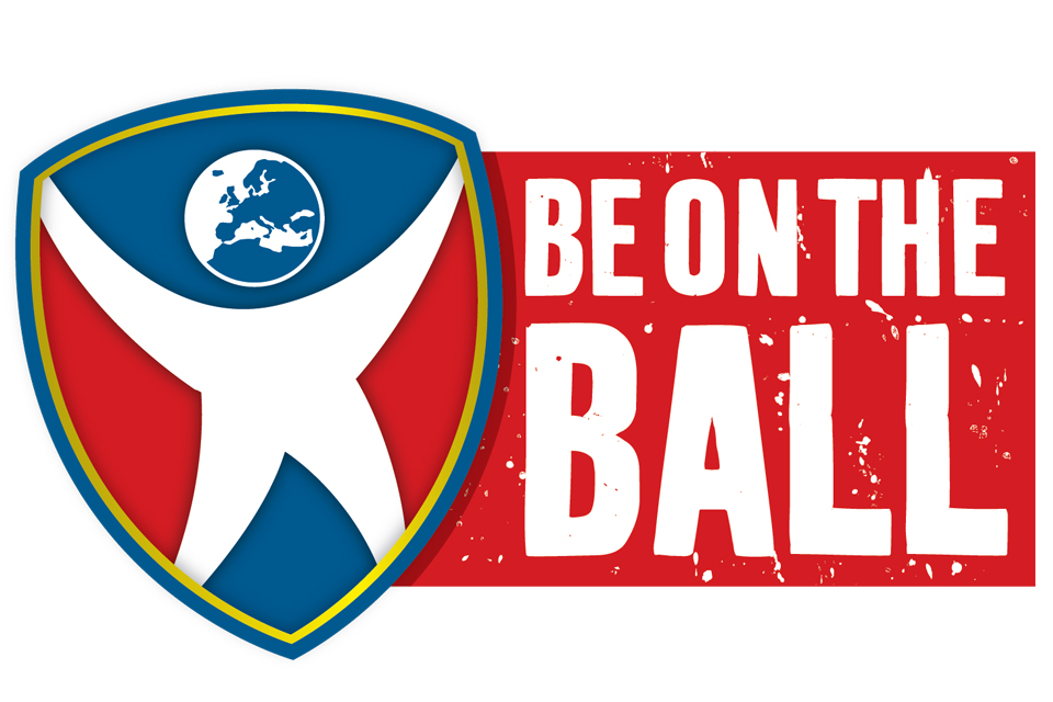 Be on the Ball Logo