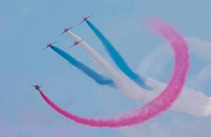 Armed Forces Day, RAF Aerobatic Team, The Red Arrows.