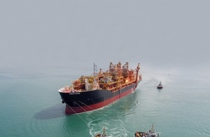 The Kraken 'floating production storage and offloading' (FPSO) unit
