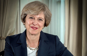 Image of Prime Minister Theresa May