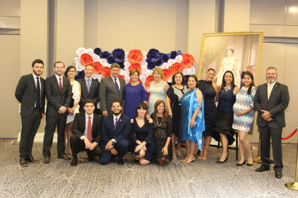 World news story: Ambassador offers a reception in honor of Her Majesty The Queen
