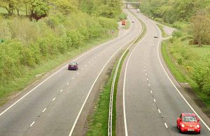Image of dual carriageway.
