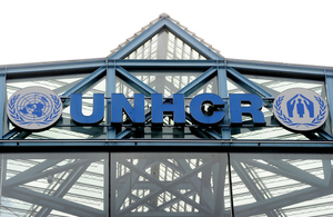 UNHCR's headquarters are in Geneva.