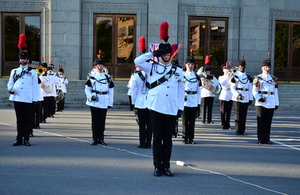 The Salamanca Band and The Bugles of The Rifles performed in Yerevan