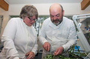 Minister Coffey at Forest Research