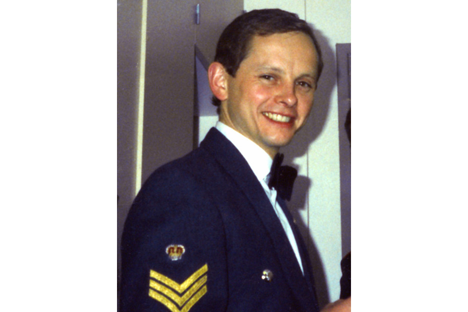 Flight Sergeant Gary Wayne Andrews (All rights reserved.)