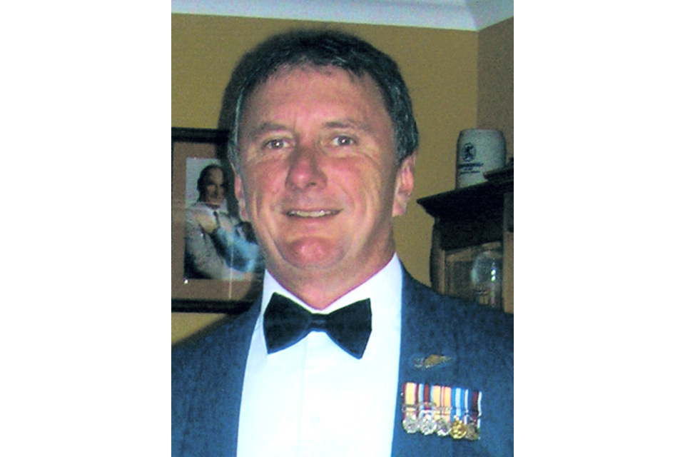 Flight Sergeant Gerard 'Gez' Bell (All rights reserved.)