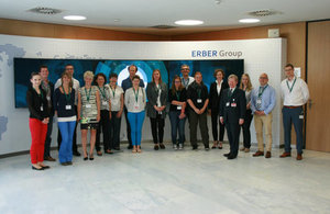 Group photo of workshop organisers