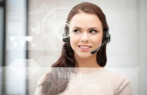 generic call centre image