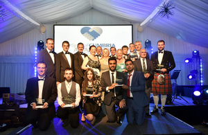 Sellafield Ltd was proud to support the Spirit of Cumbria Awards
