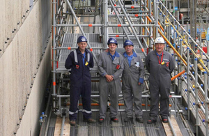 Innovative scaffolding helps Sellafield reach new heights
