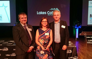 Sellafield Ltd named West Cumbria's employee of the year