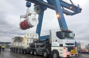 A consignment of highly active waste (HAW) has been safely delivered to its destination in Switzerland