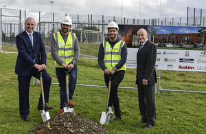 Work has begun on a world class nuclear skills training centre in Cumbria, supported by Sellafield Ltd