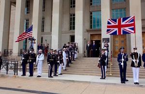 Defence Secretary reaffirms leadership in NATO on Washington trip