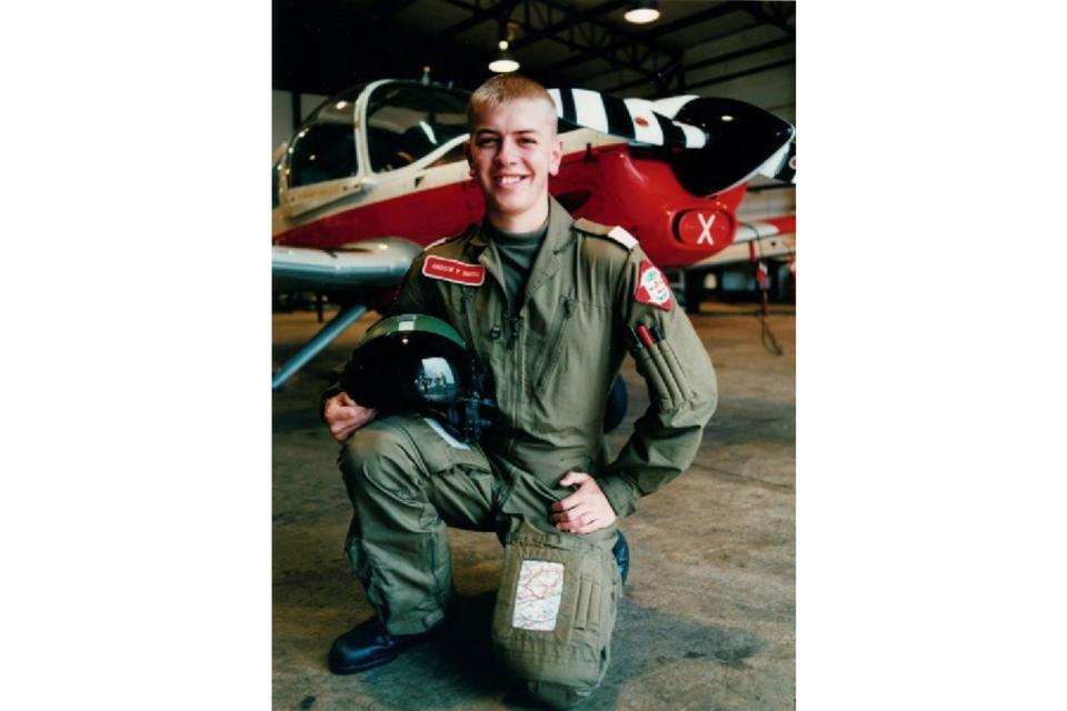 Flight Lieutenant Andrew Smith (All rights reserved.)