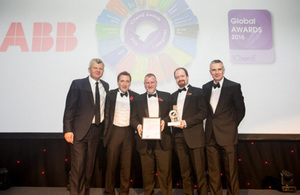 The award-winning research means waste retrievals at a top-priority facility will be accelerated by around four years