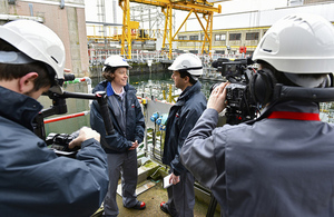 Bloomberg TV asked Technical Director, Rebecca Weston, how technology is helping to decommission the Sellafield site