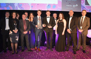 Jack Riley and Jason Savage picked up top awards at the NSAN ceremony in Manchester