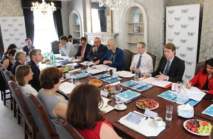 Robin Walker at the FSB roundtable