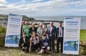 Marathon Man Gary McKee is a committee member of the Stronger Together cancer support group