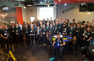 More than 40 Sellafield Ltd employees took part in the largest ever European nuclear conference for young industry professionals