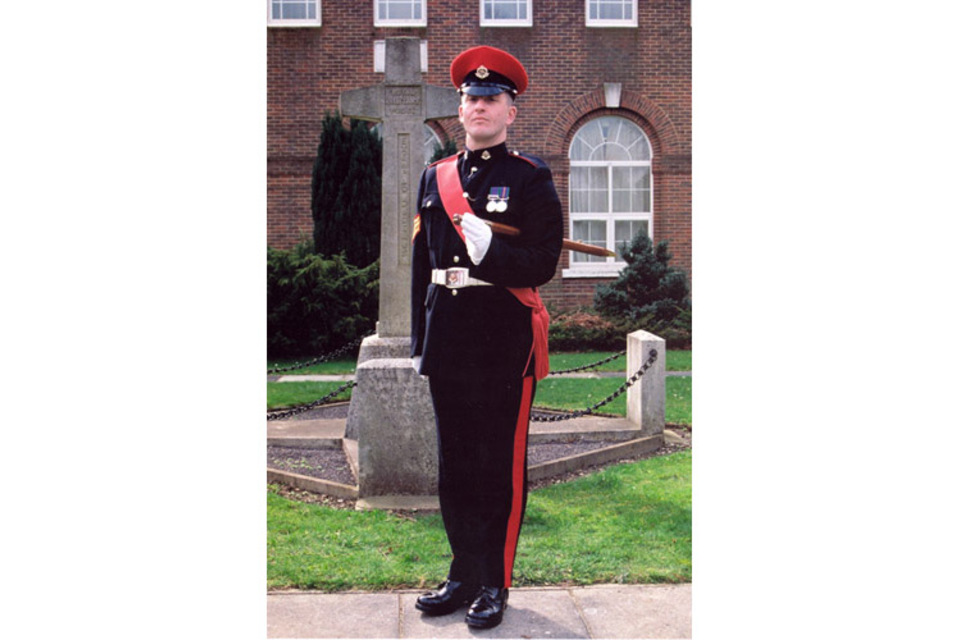 Company Sergeant Major Colin Wall (All rights reserved.)