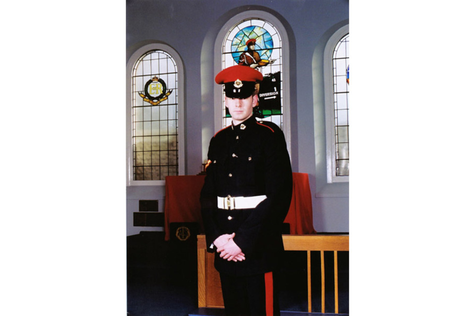 Lance Corporal Benjamin John McGowan Hyde (All rights reserved.)