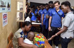 Everton FC in Tanzania