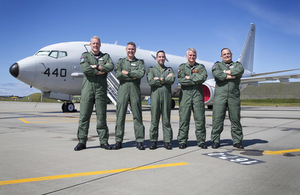 P-8A Poseidon Maritime Patrol Aircraft and aircrew.