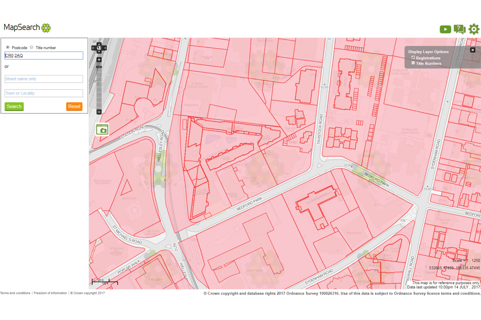 mapsearch screenshot