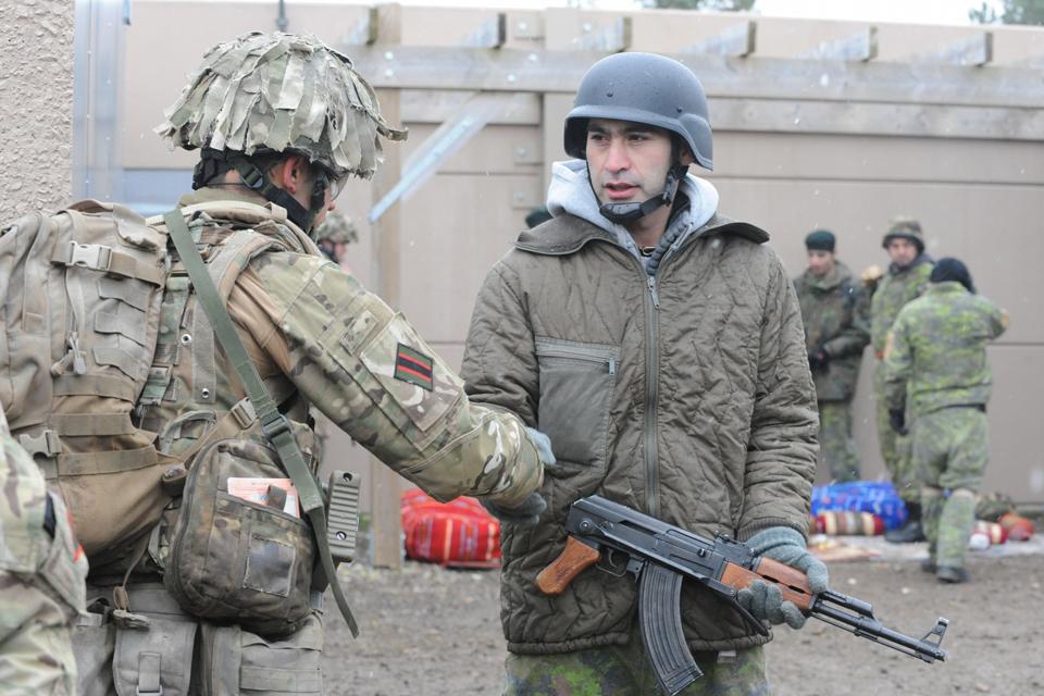 An Afghan Warrior