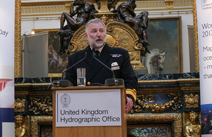 UK National Hydrographer at World Hydrography Day