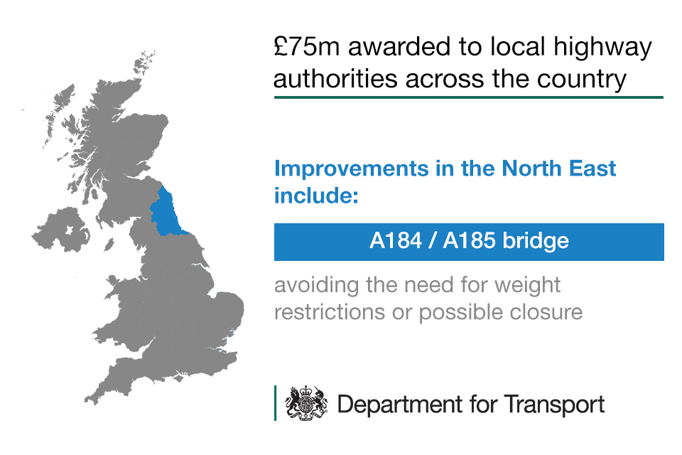 Highways Challenge Fund - improvements in the North East
