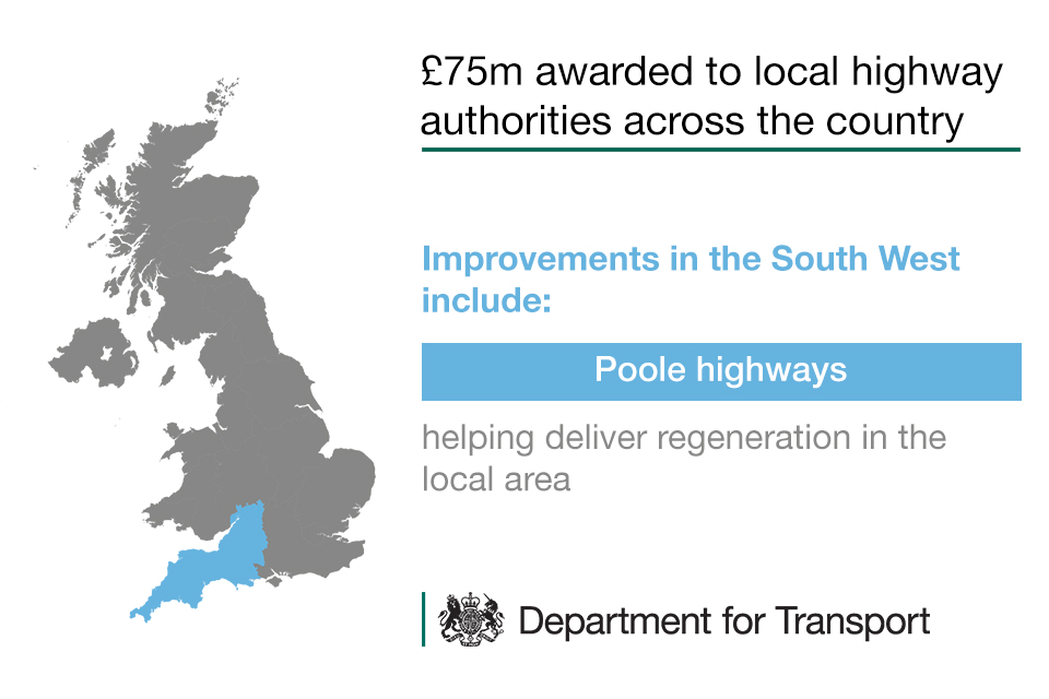 Highways Challenge Fund - improvements in the South West