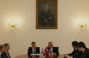 UKEF and ECBT sign the reinsurance framework