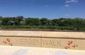 Flood defence scheme spruced up by Cardinal Newman Catholic High School