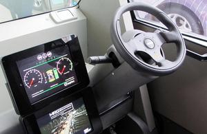 Smart vehicle.