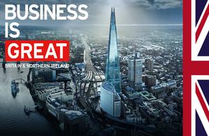 Business is GREAT Britain and Northern Ireland