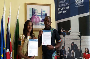 Chosen for Chevening