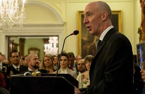 British Ambassador Mark Kent