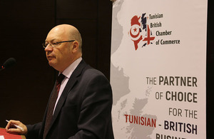 Alistair Burt Foreign office minister responsible for relations with Middle east and North Africa