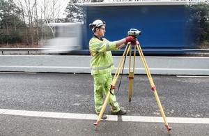 Work on the strategic road network