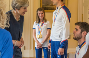 PM reception World Athletics and Para Athletics Championships 2017