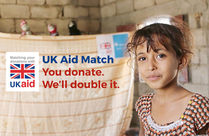 UK Aid Match image